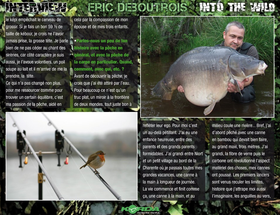 BIG INTERVIEW : ERIC DEBOUTROIS / part 01