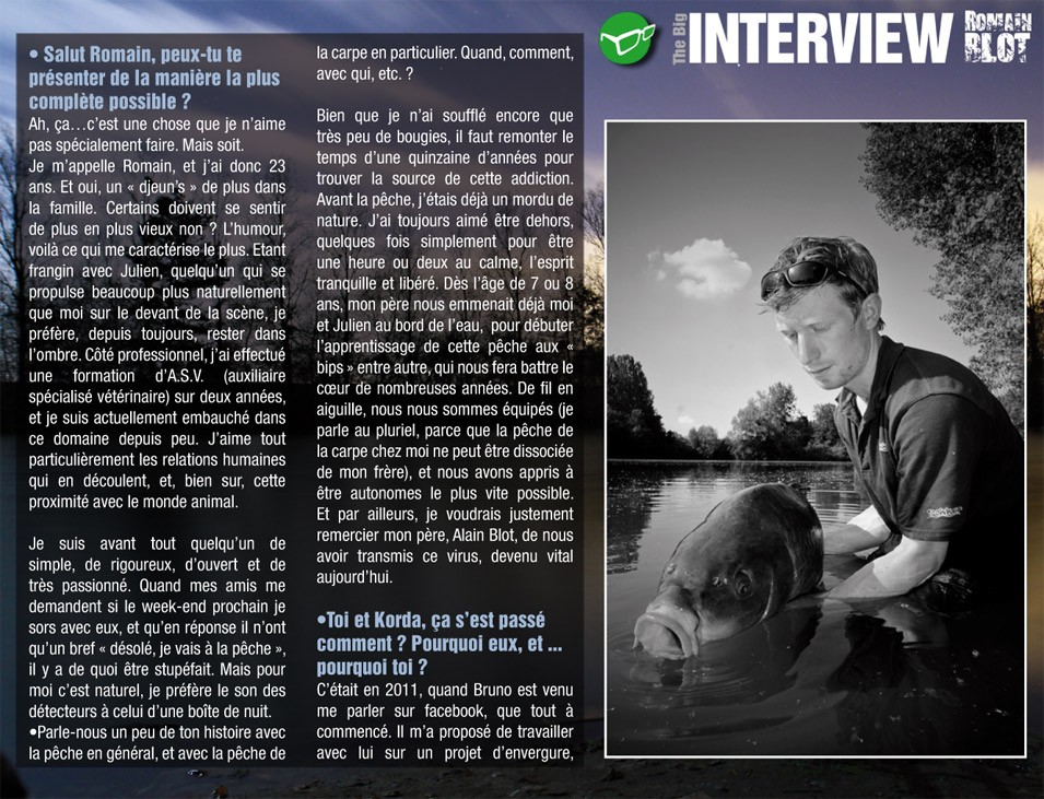 INTERVIEW Romain Blot