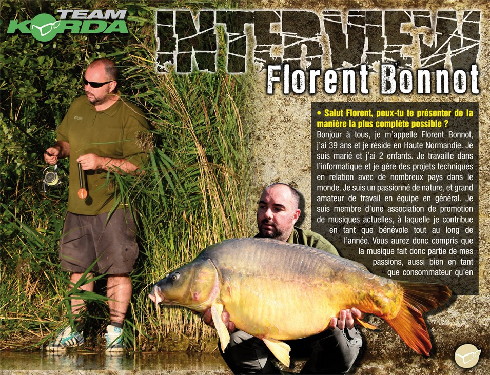INTERVIEW - Florent Bonnot