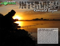 INTERVIEW Romuald Bayon